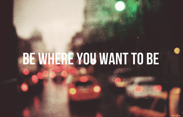 go where you want