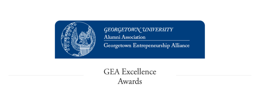 The Georgetown Entrepreneurship Alliance is currently seeking nominations for the 5th Annual GEA Entrepreneur of the Year and, new this year, GEA is also seeking nominations honoring Hoyapreneurs and Hoya-owned businesses in various categories. The Entrepreneur of the Year award is the highest honor bestowed to Georgetown entrepreneurs and will be presented by the Georgetown Entrepreneurship Alliance at a banquet in Washington, DC on April 5, 2017. Category winners will be celebrated that evening as well.    To nominate a Hoyapreneur, visit here:   http://www.hoyapreneurs.org/entrepreneur-of-the-year-2017/