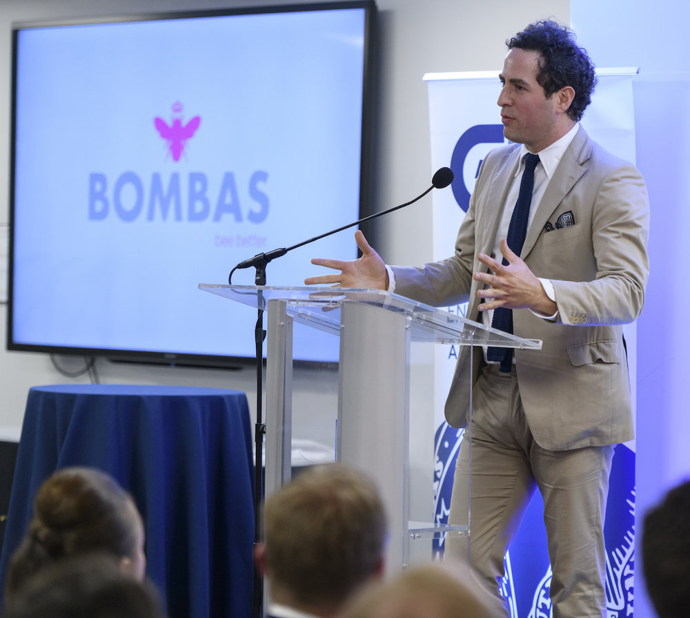 Randy Goldberg (B'00), Co-Founder and Chief Brand Officer, Bombas — 2017 Entrepreneur of the Year