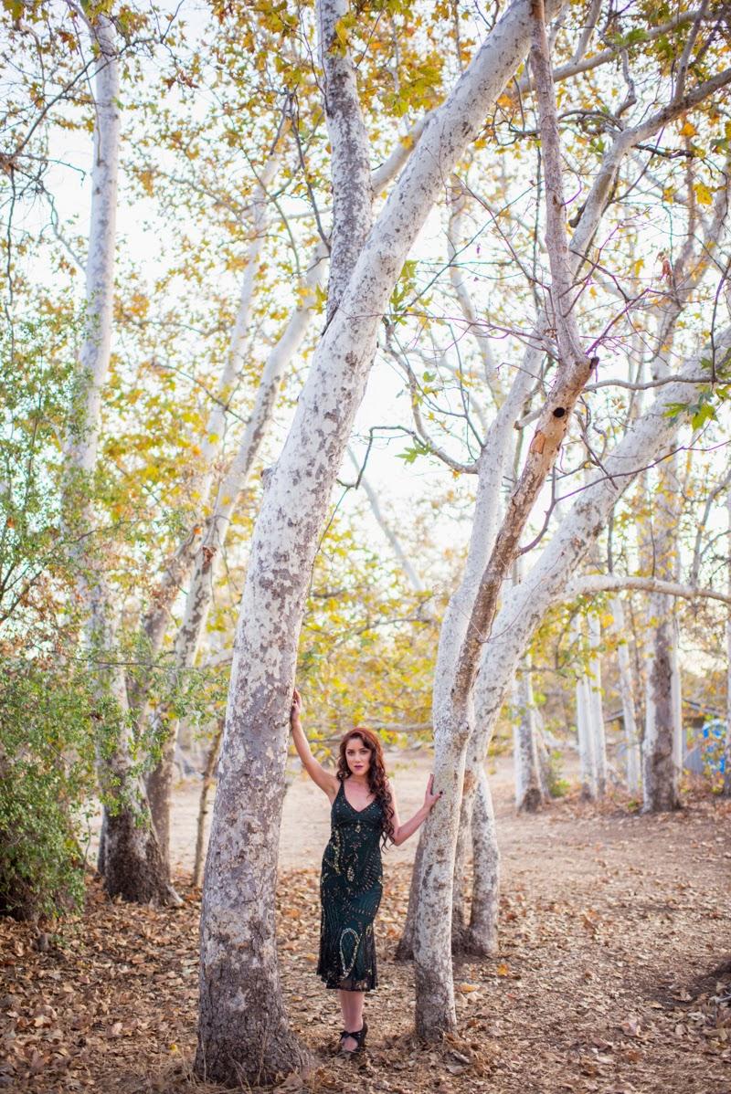 Dark Blue Dress Between Trees.jpg