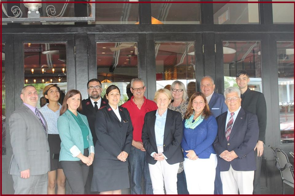 2  017 Community Leaders Gather at Rela Cafe, Port Chester
