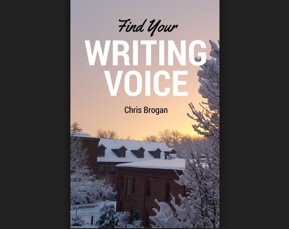 Find Your Writing Voice - Chris Brogan