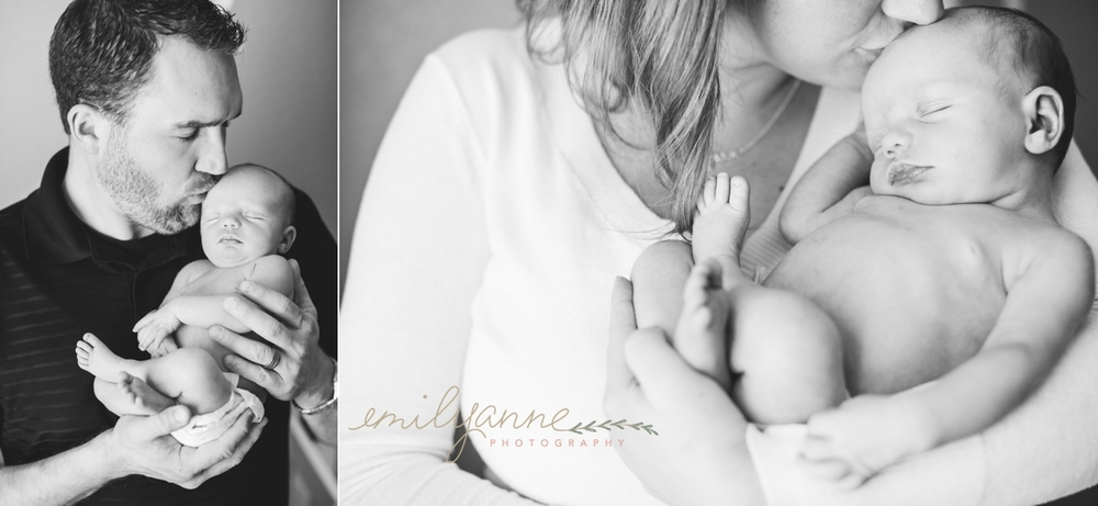 Lifestyle Newborn || www.emilyanne-photography.com