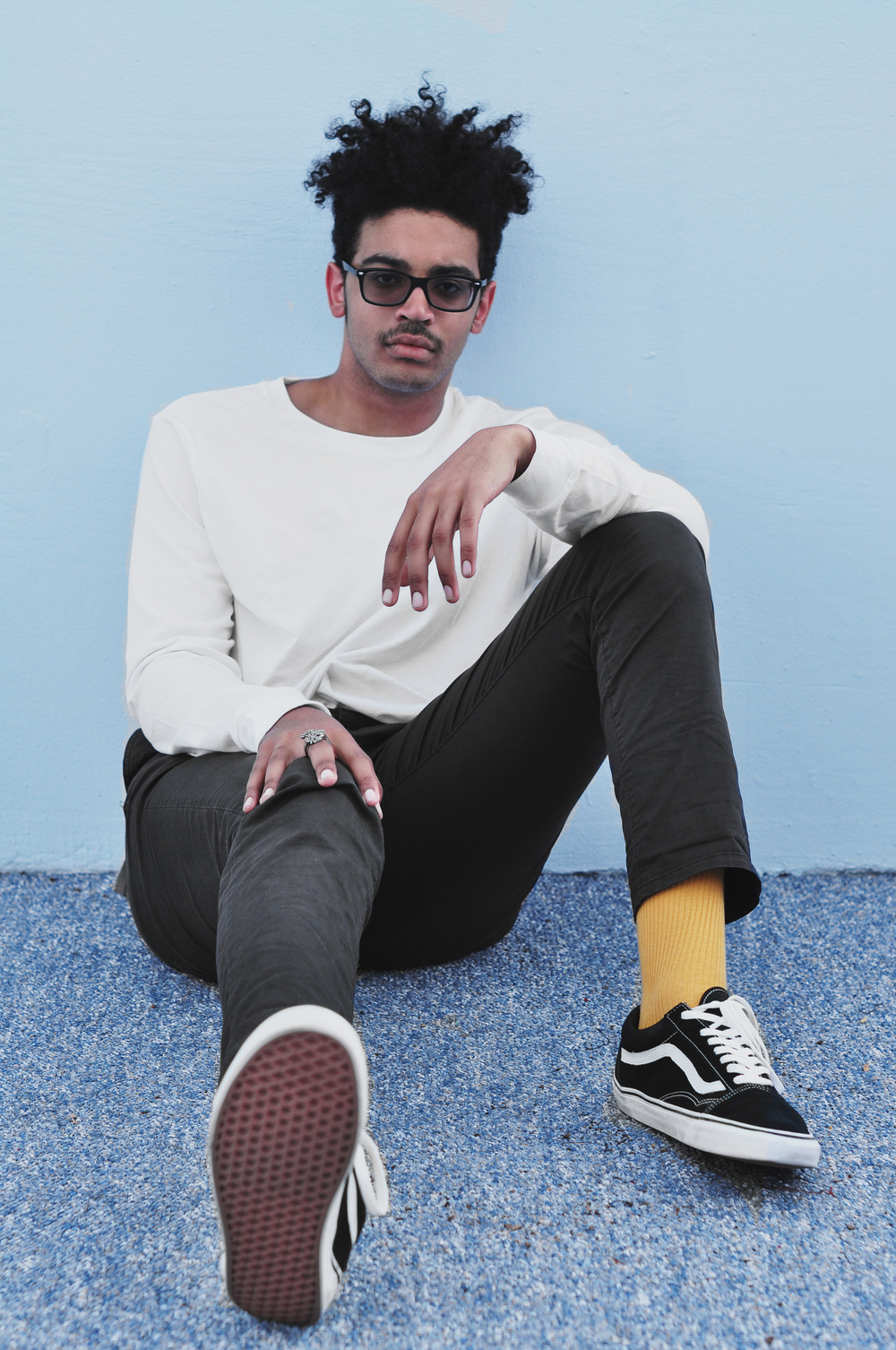 Michael Wolever for Thread Society. Featured Product: The Mens Long Sleeve Jersey Crew    (Photo by Shannon Adolt)