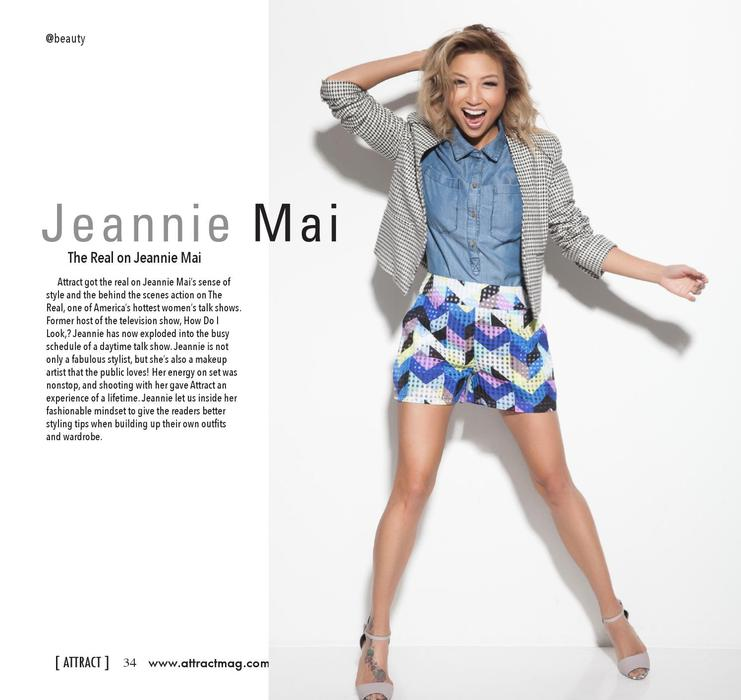 Jeannie Mai - The Real
