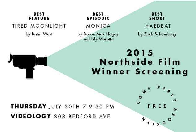 We won the jury prize for best episodic! Come watch the other winning films with us on 7/30.