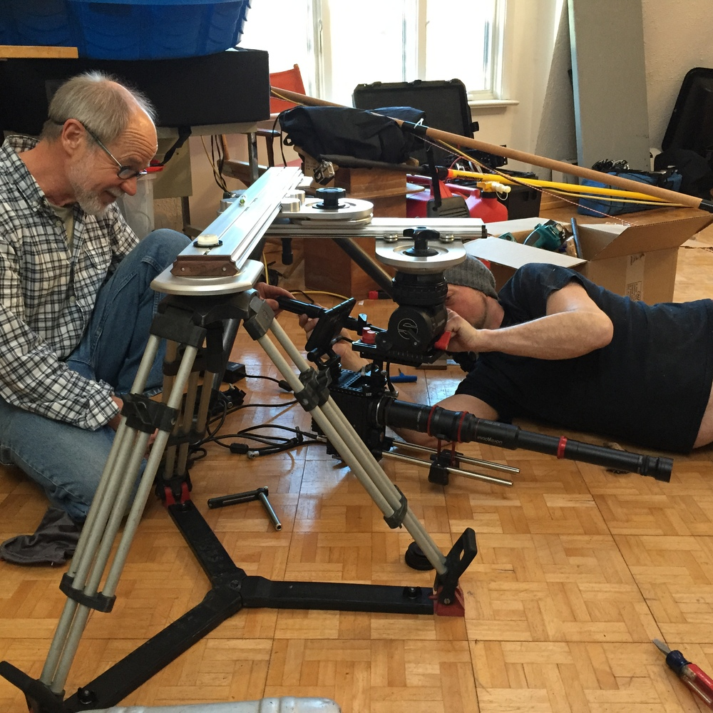Slider Rig Left to Right: Michael Male, Darryl Curry