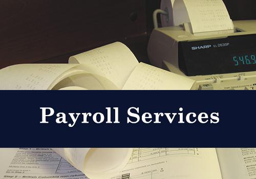 Payroll Services CAS