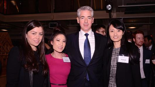 THE WINNING PERSHING SQUARE CHALLENGE TEAM: THAIS FERNANDES, joanna vu, and melody li