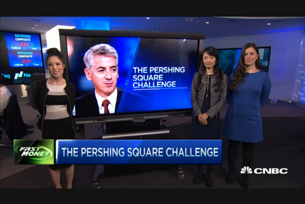 PERSHING SQUARE CHALLENGE WINNERS PITCH ON CNBC