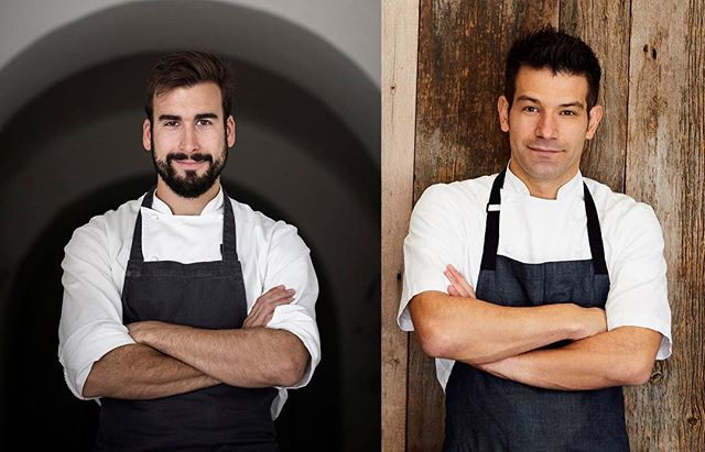 THURS, APRIL 5: For one evening, Chef @geomendes collaborates with award-winning Portuguese chef @pedropenabastos, most recently known for his time at @esporaoeacomidaportuguesa. Their collaborative, $95, 6-course dinner will be Pedro's very first dinner in New York. All proceeds of the dinner will go to Boston-based food rescue charity, @lovinspoonfuls, who will be sponsoring George's first time running in the Boston Marathon this April. Book now on @opentable