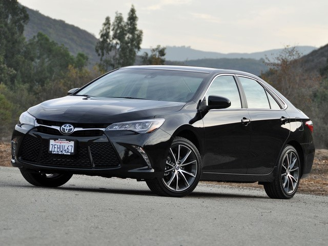 T he 2015 Toyota Camry: not exactly a clunker. You can find these for about $15,000 with a quick search.