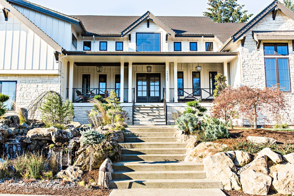 Beautiful home, but do they have financial peace? 30-year mortgage with 5% down payment? Leveraged to the hilt?