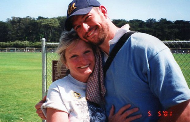 Mark Bingham and his mom Alice Hoagland.