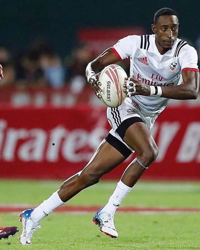 Today we celebrate Black History Month by profiling a USA Rugby legend and current American star Perry Baker (born June 29, 1986). Perry is an American rugby sevens player for the United States national rugby sevens team. With over 160 tries, Baker ranks first among Americans and ninth among all players in career tries scored in the World Series. Baker has established himself as one of the best rugby sevens players in the world. In the 2015–16 World Series, Baker ranked second with 48 tries scored and was one of seven players named to the World Series Dream Team. In the 2016–17 World Series, Baker ranked first with 57 tries scored, was again named to the World Series Dream Team, and won the 2017 World Rugby Sevens Player of the Year award. #igrugby #unitetheempire #gothamrugby #blackhistorymonth #igr #USA #USARugby