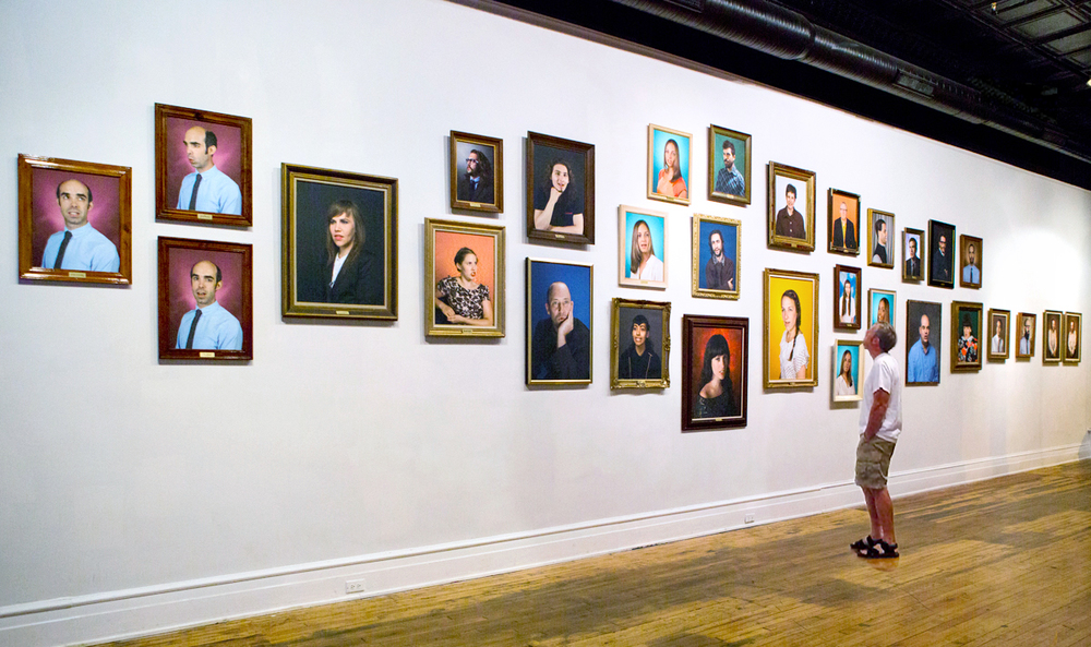 Installation View at the Black Iris Gallery (2013)