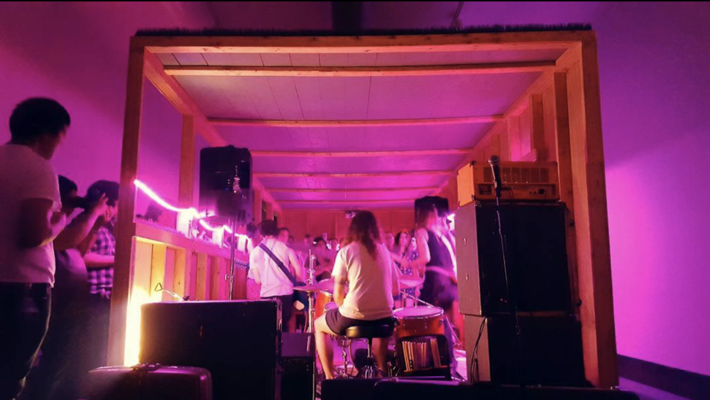#punkrockinabox   @hamiltoniangallerydc - next show September 9 #wherethewheatgrassgrows   #permacounterculture   Post by @ dpwfarley