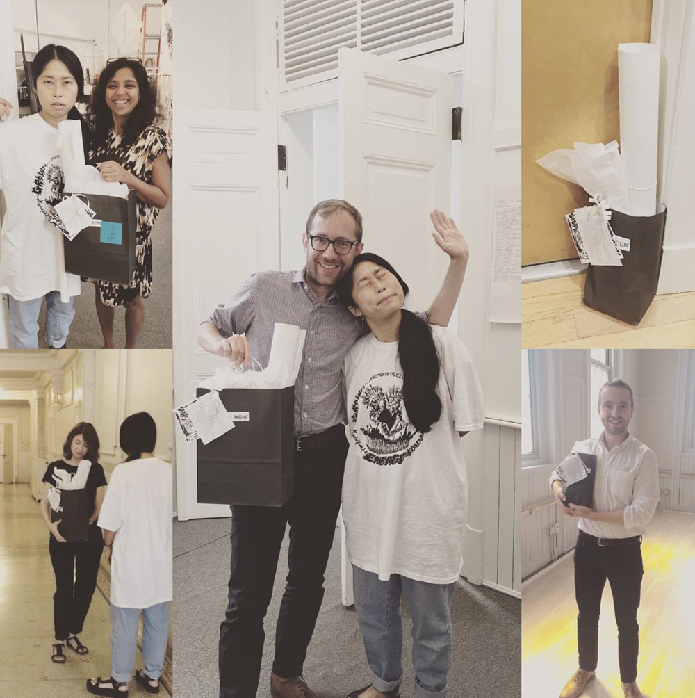 Knock knock!! Wow-PS has been making surprise #permacounterculture deliveries this week to everyone who supported the campaign. Thank you all!! @wowsugi  #DC  #punk  #acreativedc