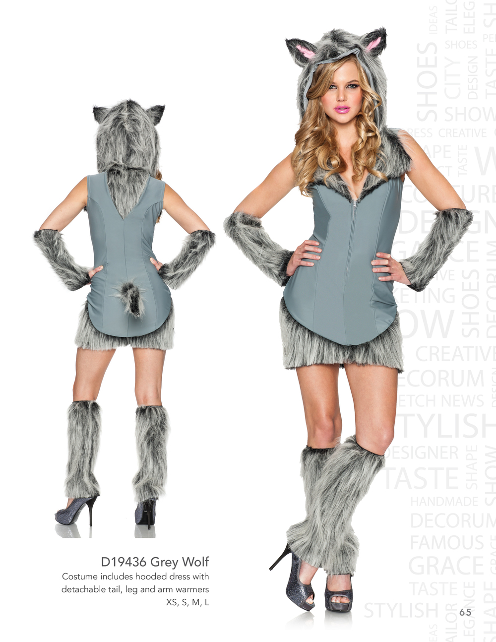 D19436 Grey Wolf
