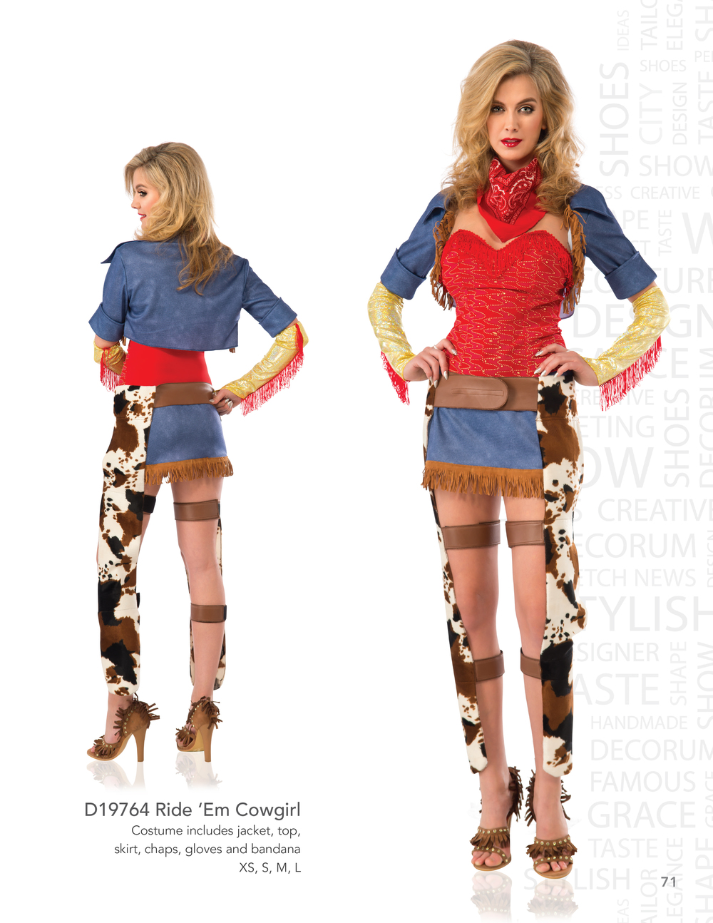 D19764 Ride 'Em Cowgirl