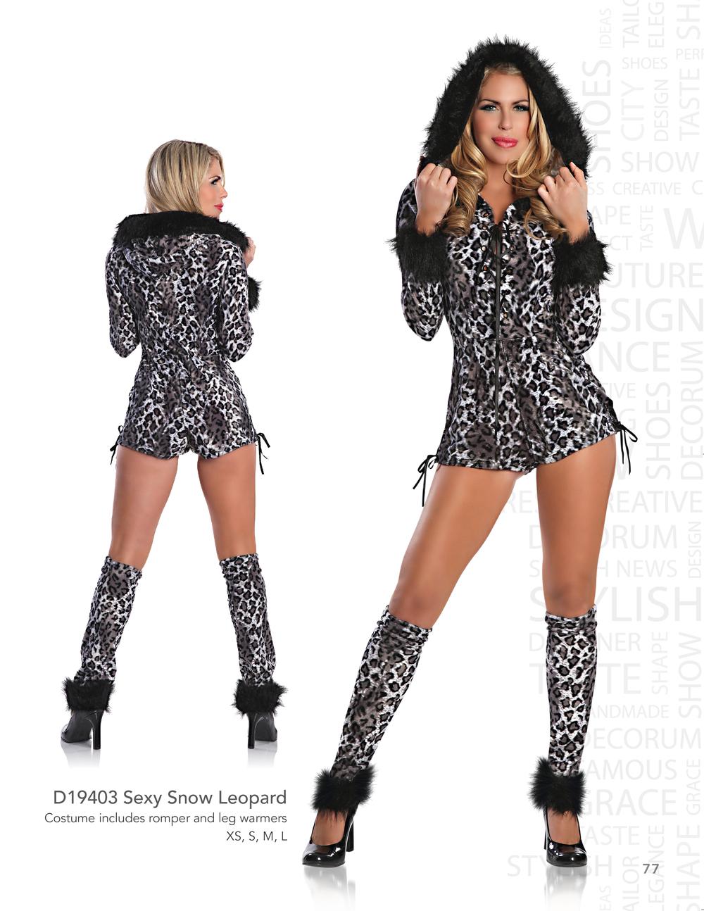 D19403 Sexy Snow Leopard