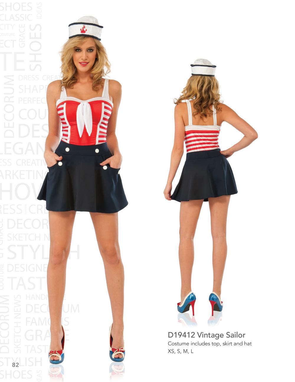 D19412 Vintage Sailor