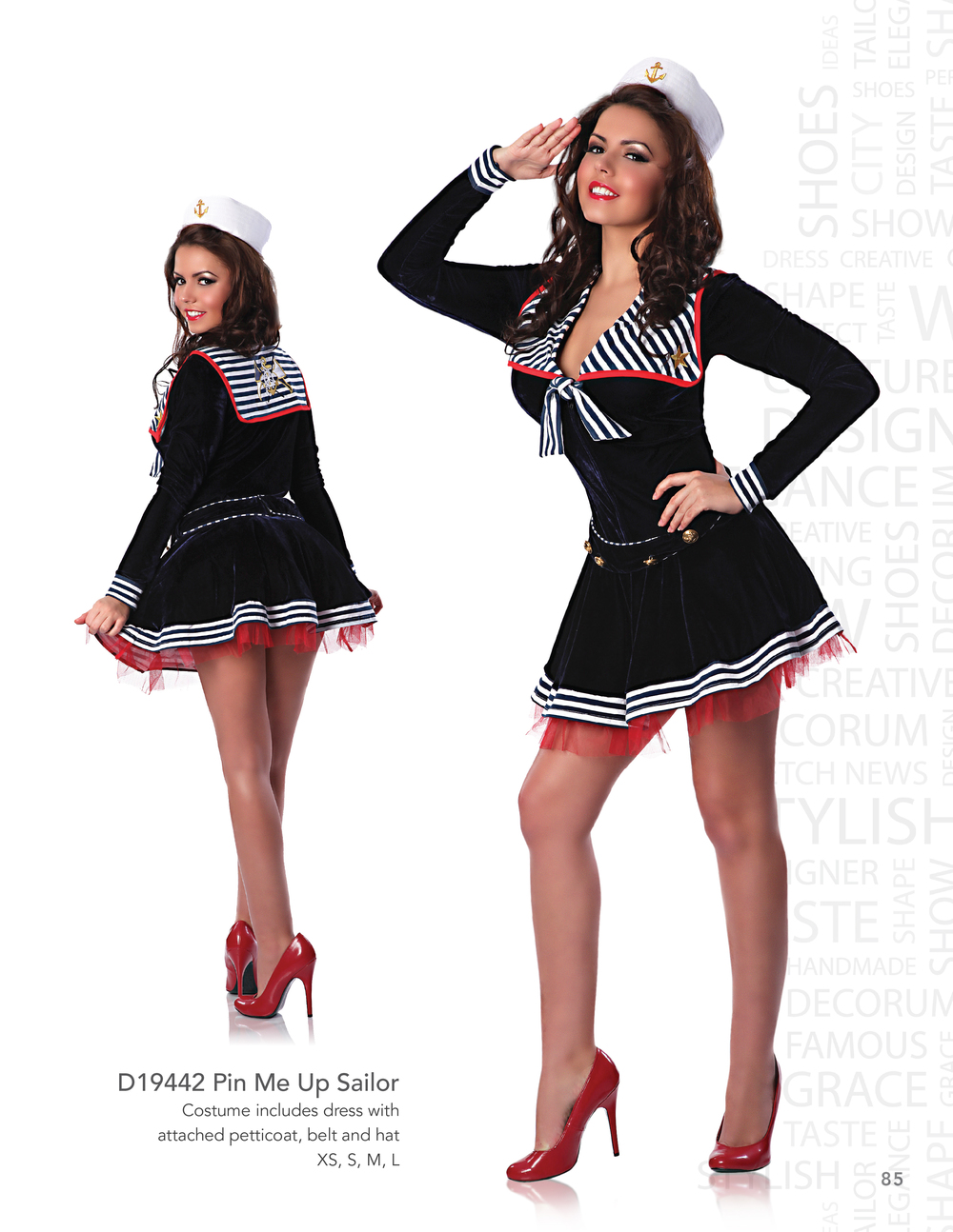 D19442 Pin Me Up Sailor