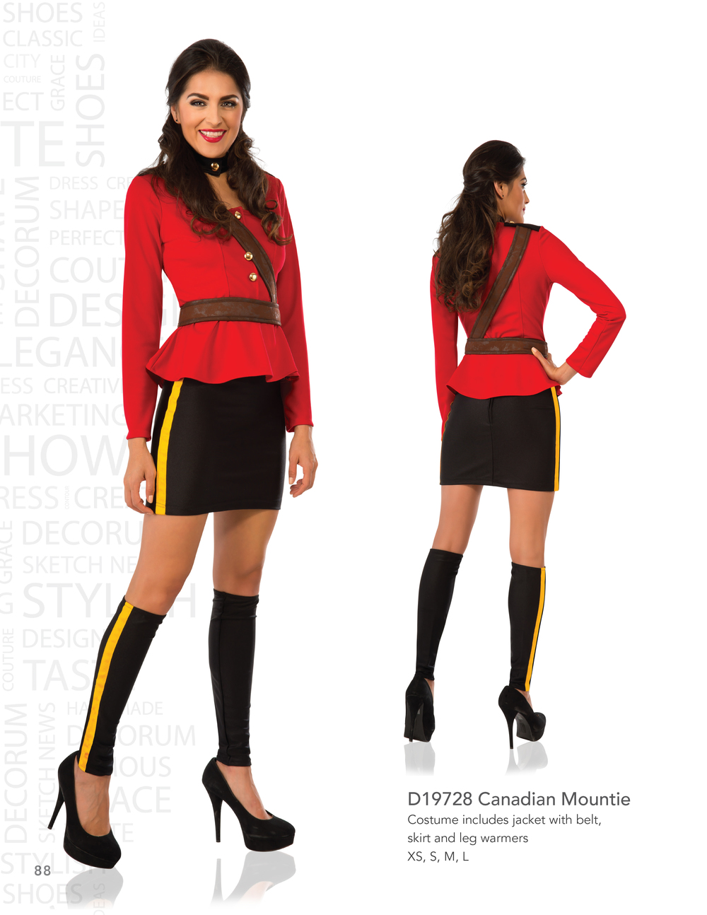 D19728 Canadian Mountie