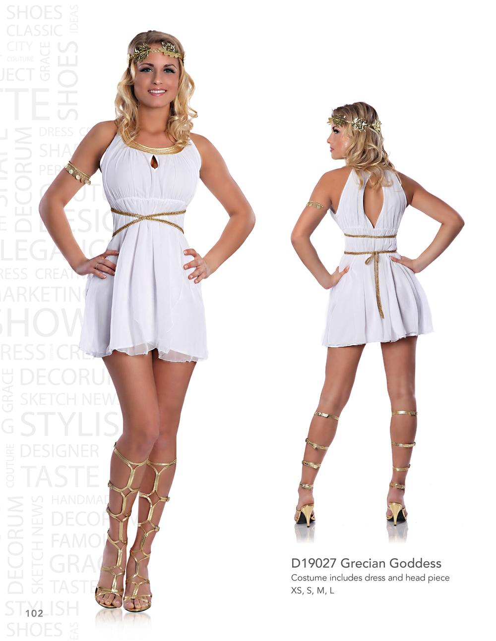 D19027 Grecian Goddess