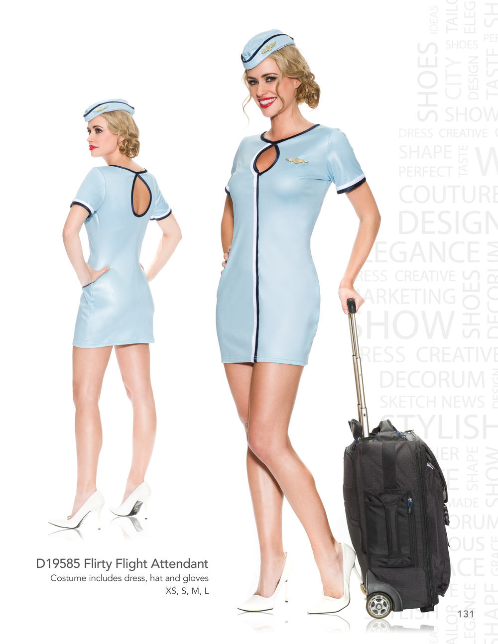 D19585 Flirty Flight Attendant