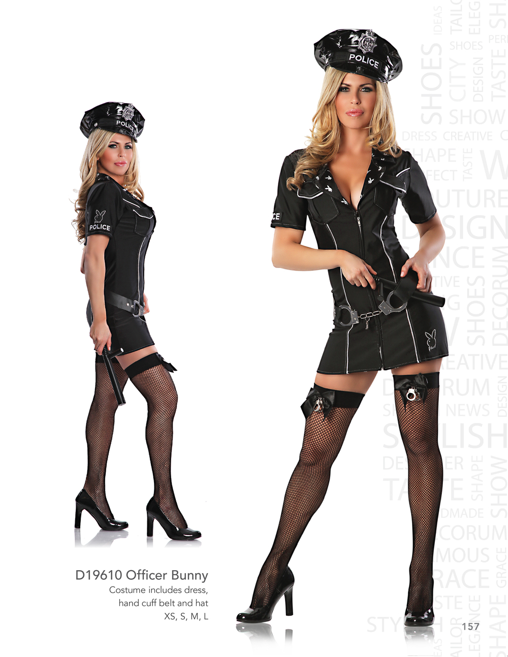 D19610 Officer Bunny