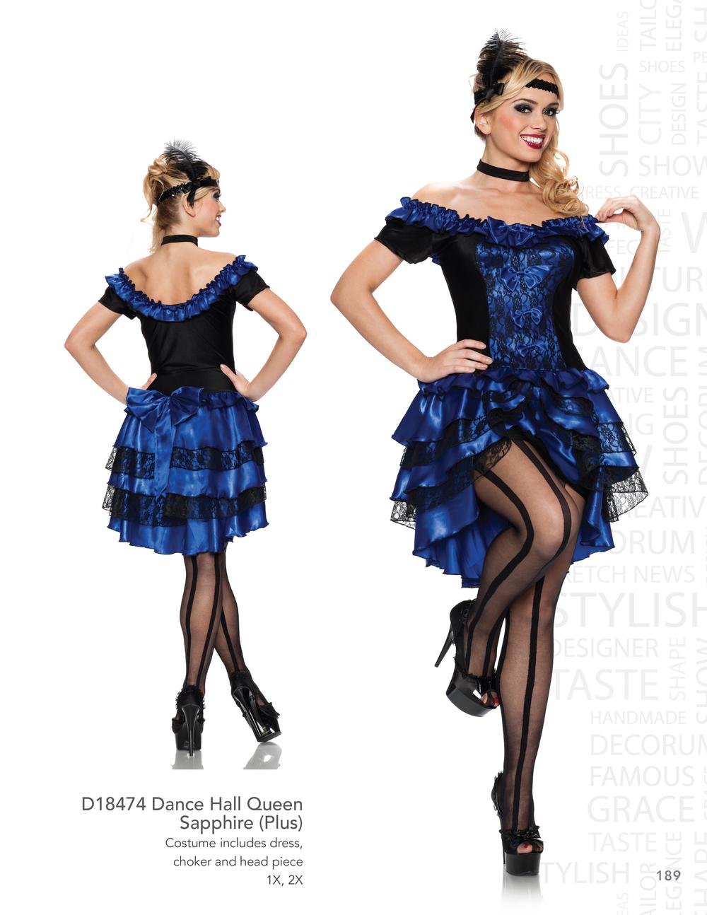 D18474 Dance Hall Queen - Sapphire