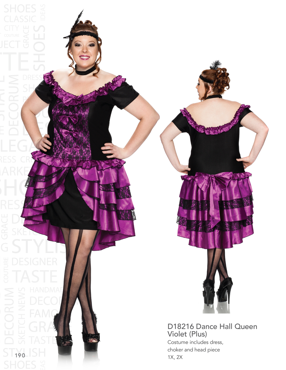 D18216 Dance Hall Queen - Violet