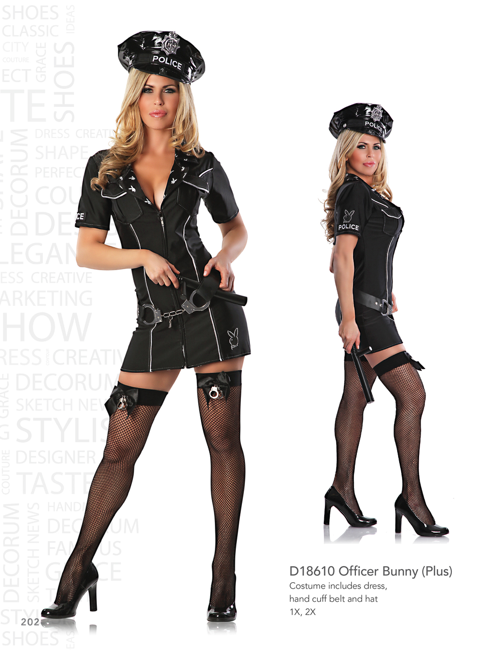 D18610 Officer Bunny