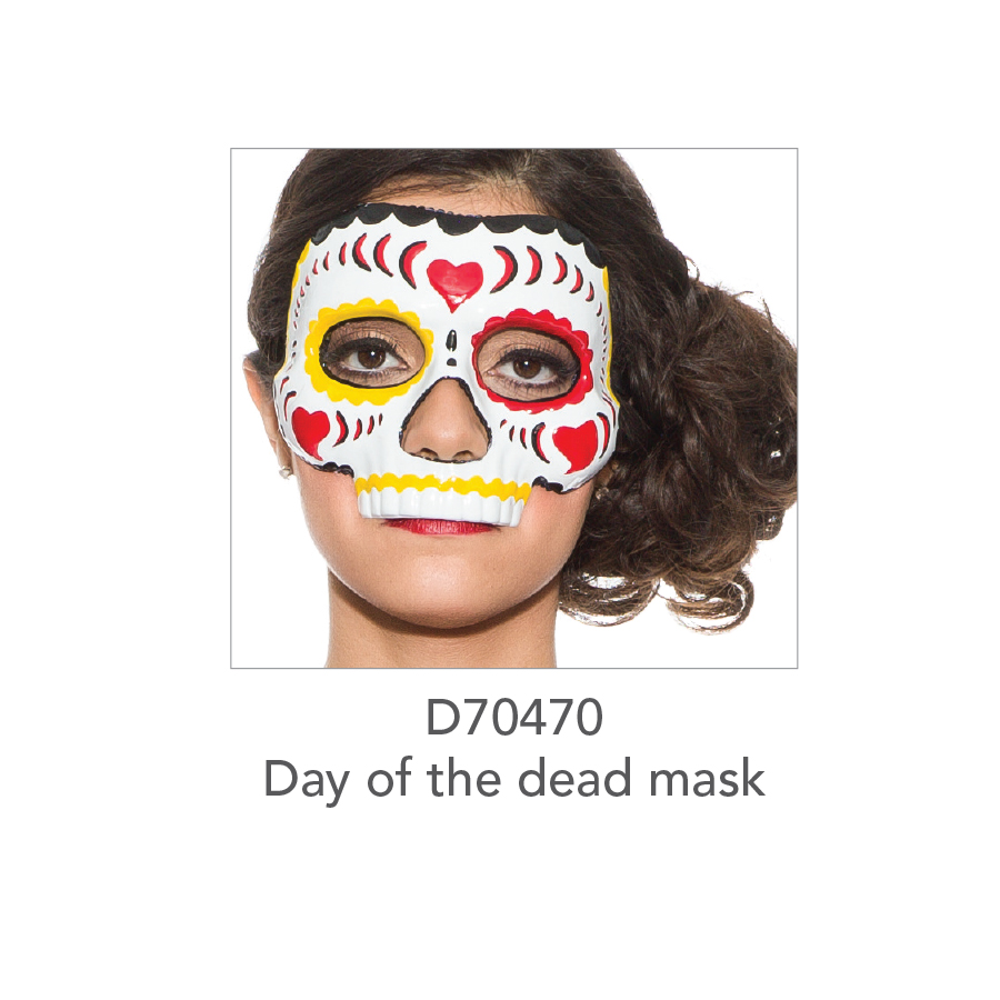 D70470 Day Of The Dead Mask