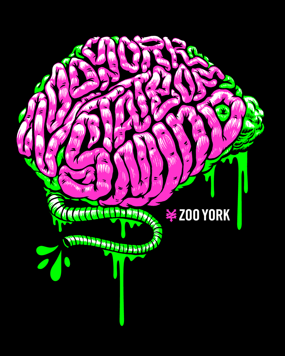 Apparel Design, Illustration for Zoo York