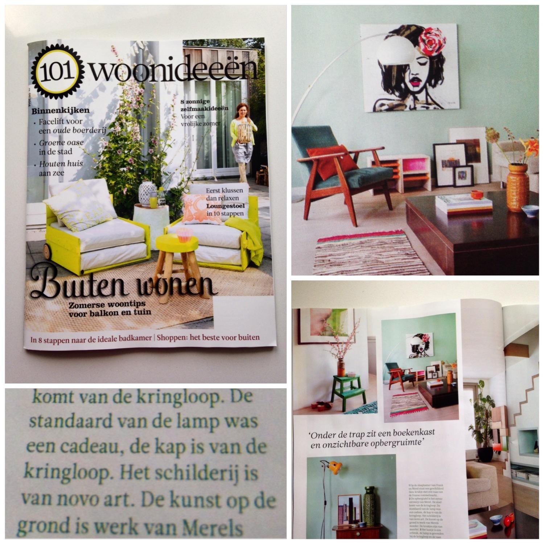 Houten Lounge Stoel Buiten.What S That I See In 101 Woonideeen Novoart
