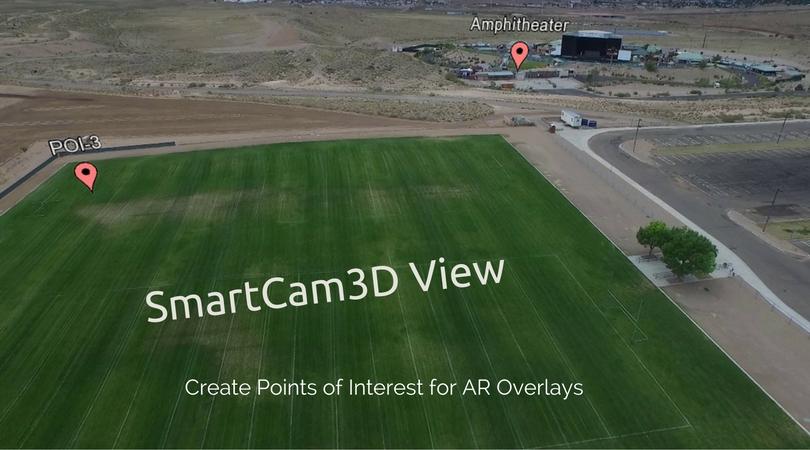 SmartCam3D View App for DJI drones AR