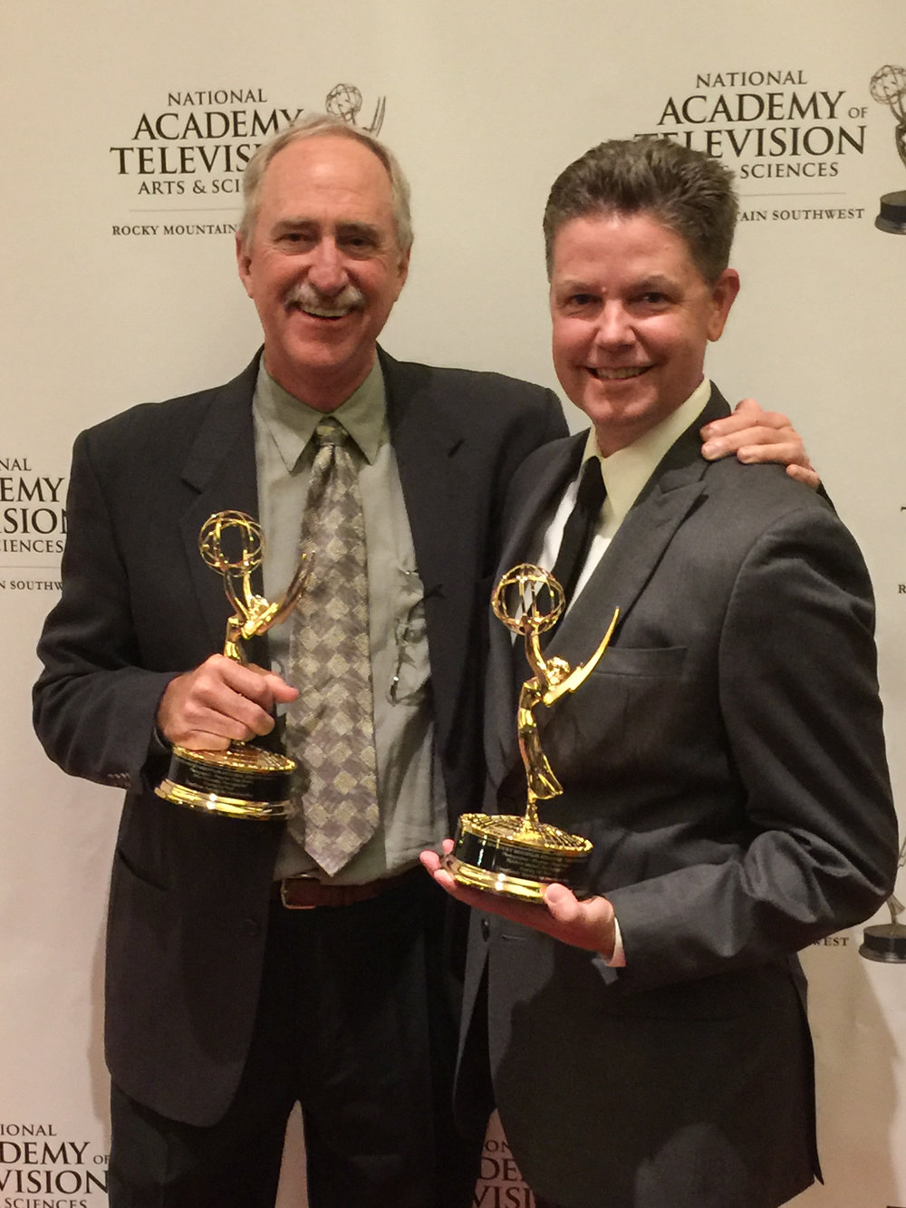 Mike Abernathy and Matthew Murray win an Emmy for Photography