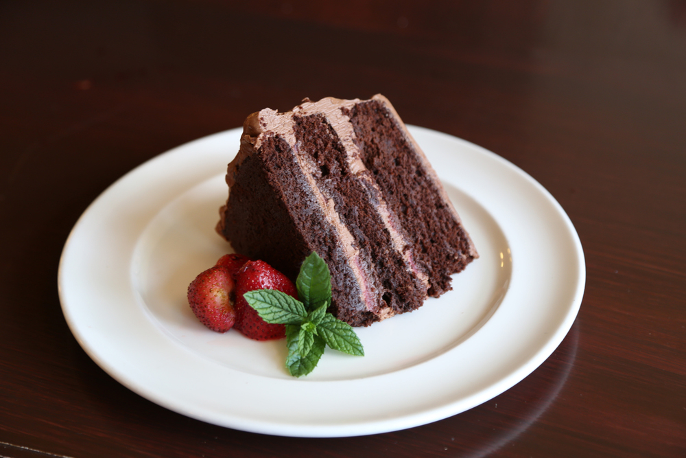 House Baked Devil's Food Cake