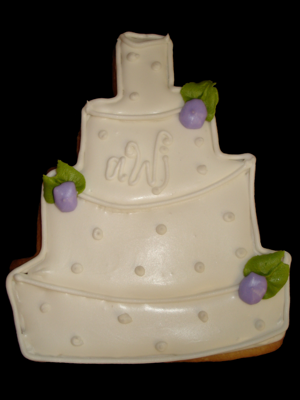 Cookie Wedding Cake Purple.jpg