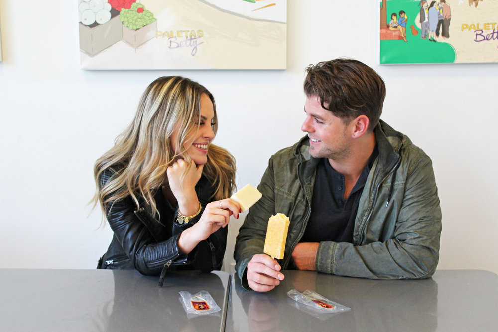 Sparks fly when you get your girl something she can eat, especially when it's a paleta from Paletas Betty.