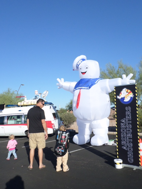Another special guest who will be in attendance is the Marshmallow Man.