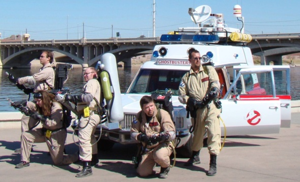 Arizona Ghostbusters will be at the event.