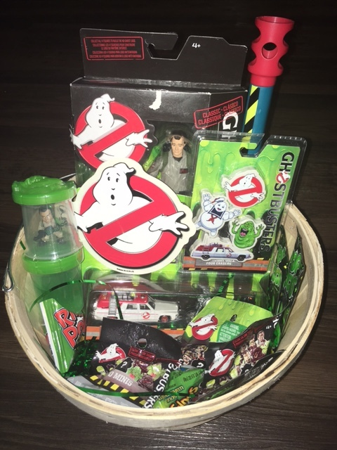 Arizona Ghostbusters will be giving this basket to one lucky winner of the costume contest (dress as a monster or a Ghostbuster! costume contest is at 6:30 p.m.)