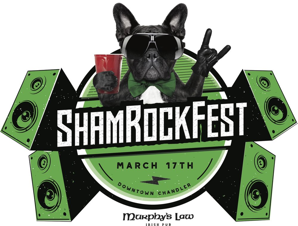 A new event, the ShamRockFest, is put on by local Irish bar, Murphy's Law Irish Pub and will be located on the Downtown Stage Plaza.