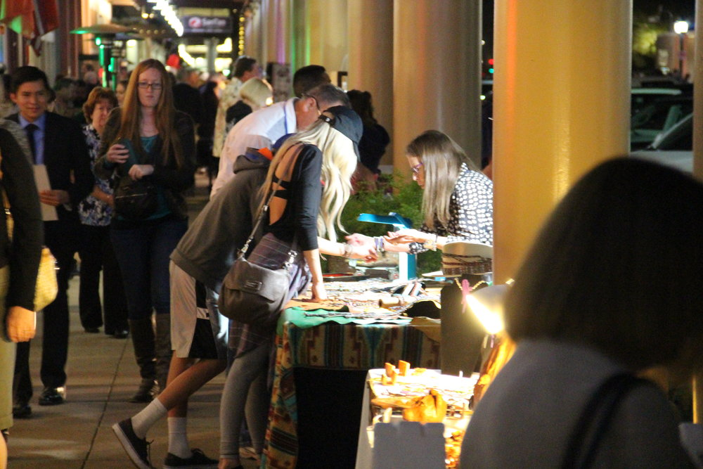 The Shamrockin' Art Walk will feature more than 30 local artists selling various mediums of art.