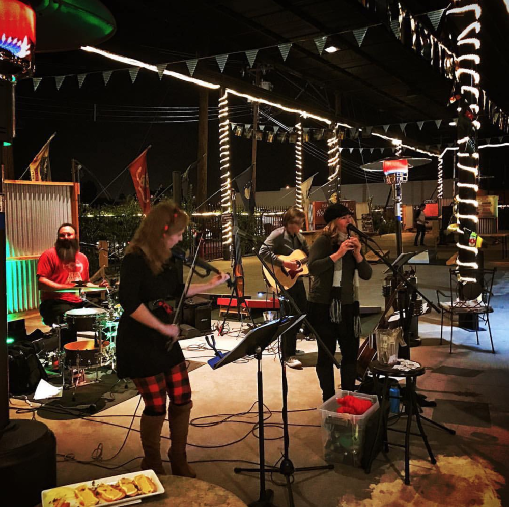 Kilted Spirit, a Phoenix-based band, will play Irish music at the Shamrockin' Art Walk.