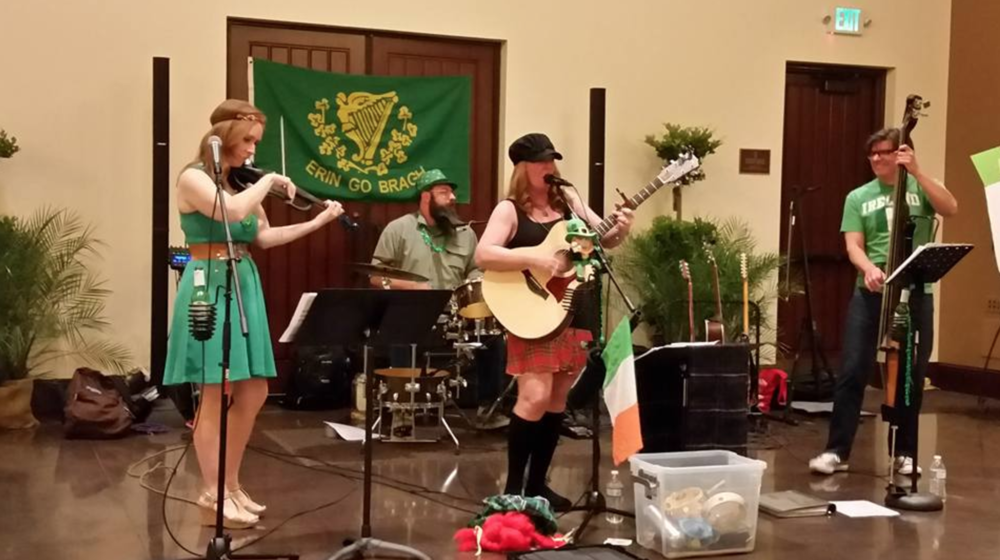 Local band, Kilted Spirit, will provide live music at the art walk from 6:30-9:30 p.m.