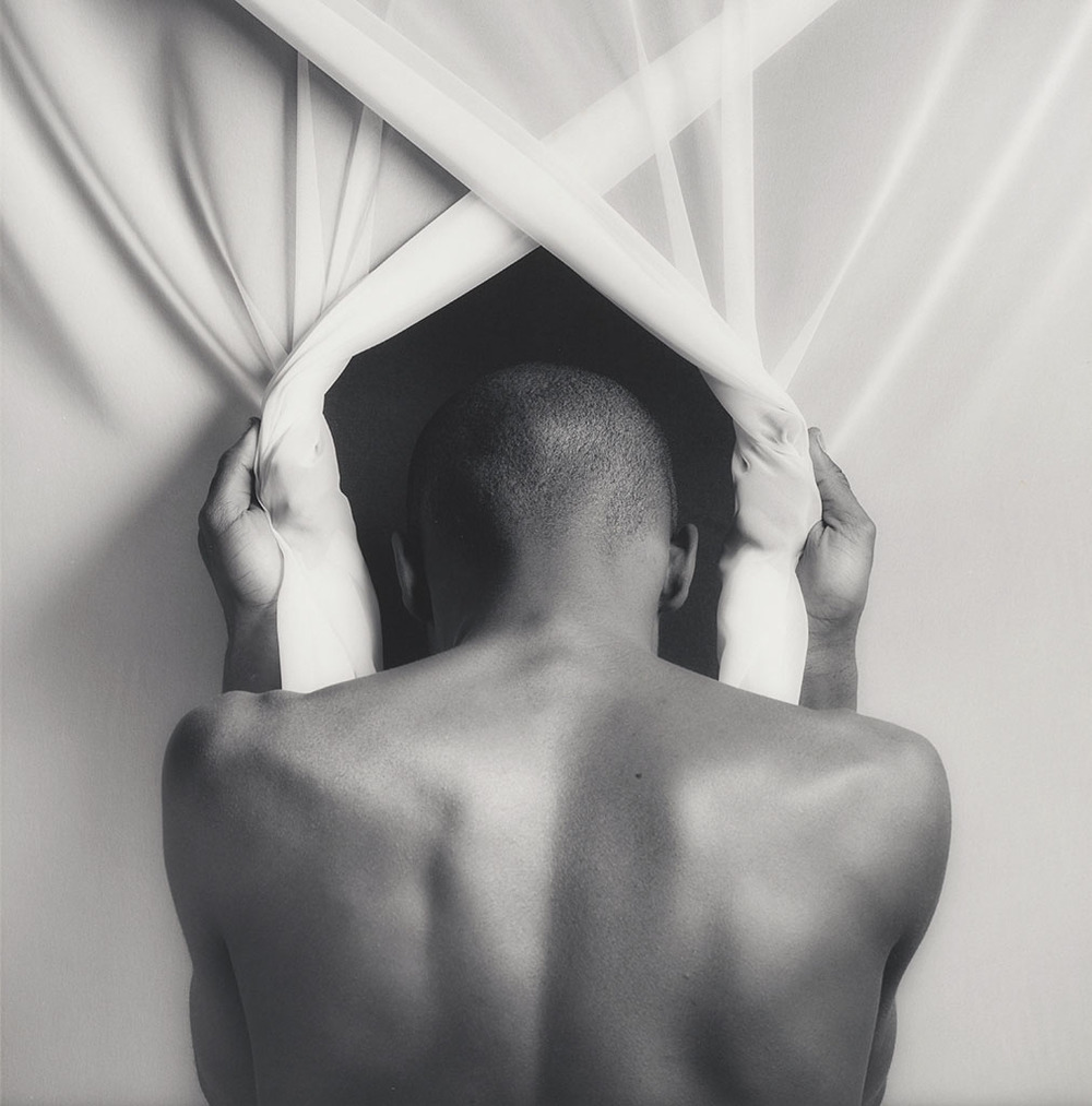 Phillip Prioleau, 1982, Robert Mapplethorpe, gelatin silver print. Promised gift of The Robert Mapplethorpe Foundation to the J. Paul Getty Trust and the Los Angeles County Museum of Art. © Robert Mapplethorpe Foundation